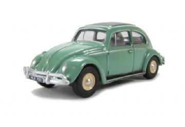 Oxford Diecast 76VWB003 Turquoise VW Beetle - 1:76